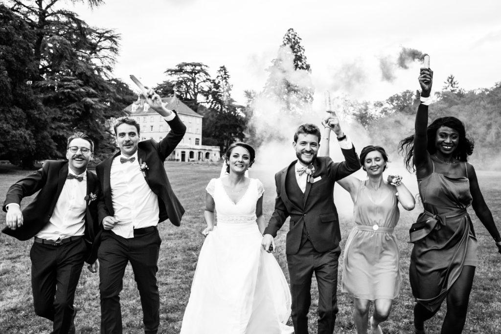 photographe mariage photos de groupe