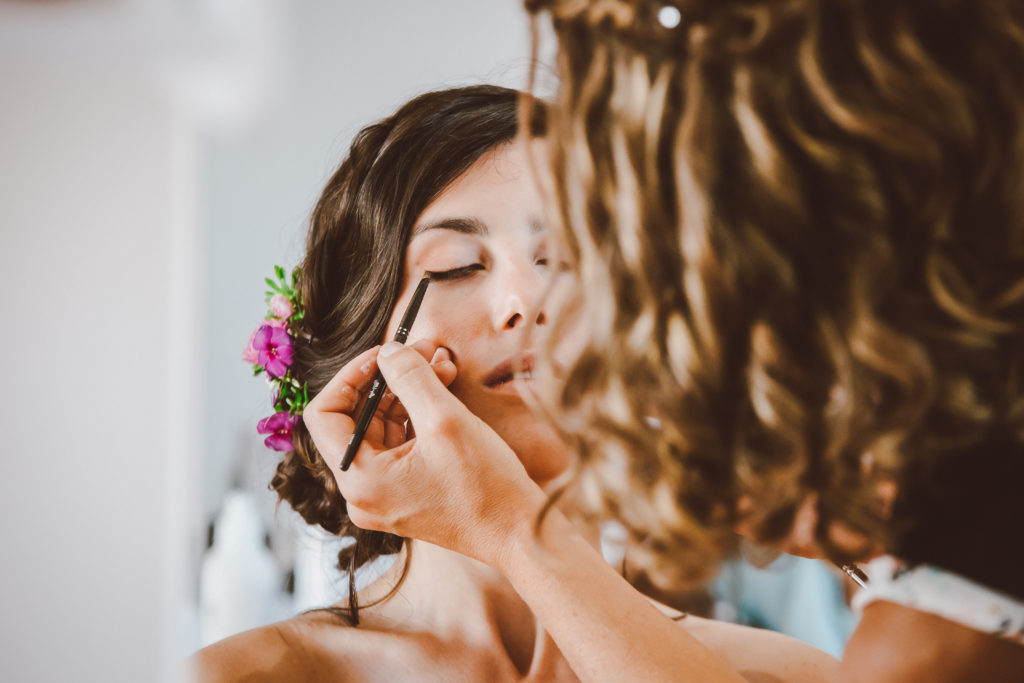 maquillage mariage mariée