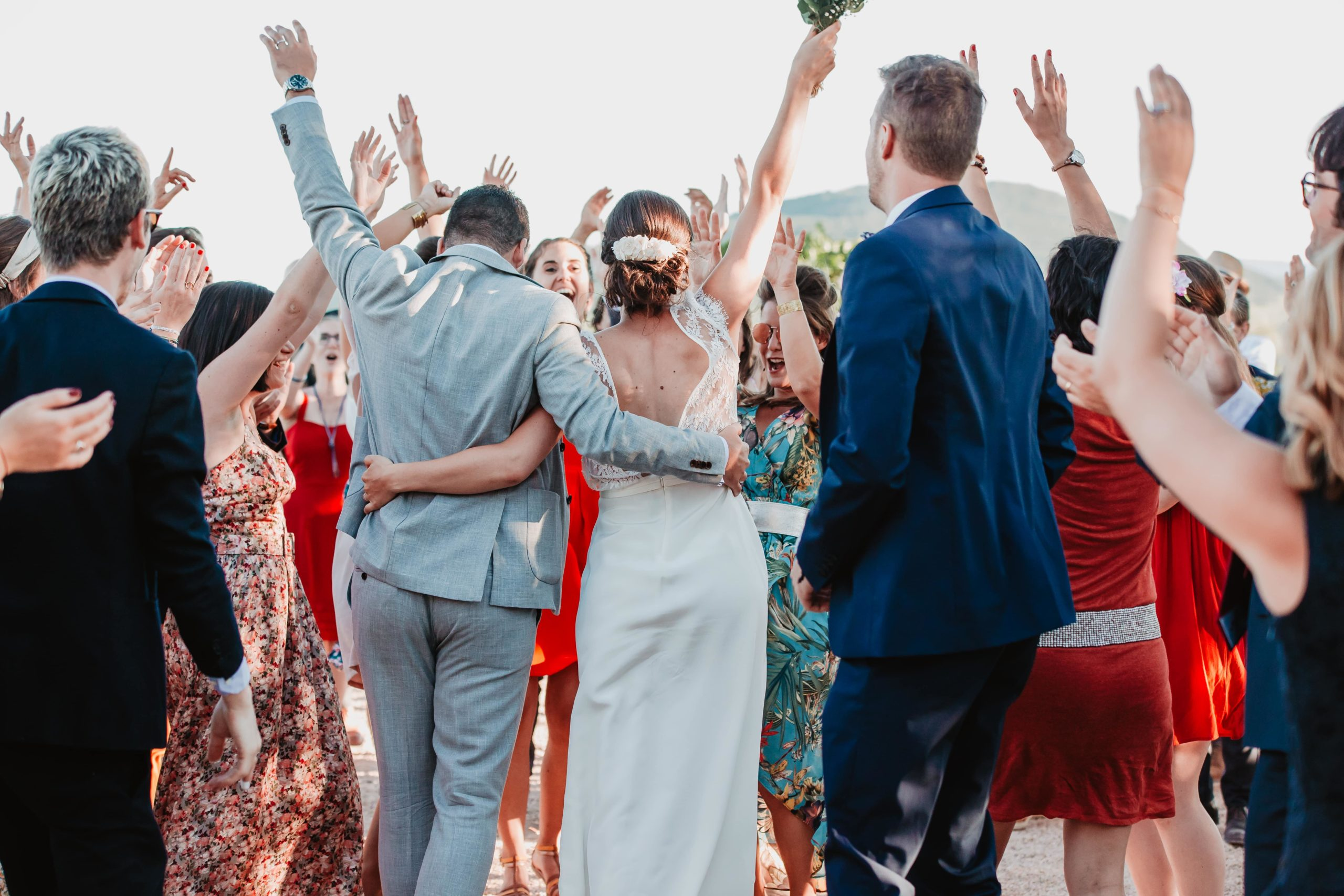 invités photos mariage