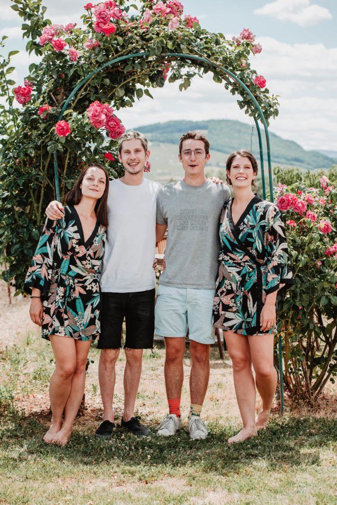 photos mariage frère et soeur