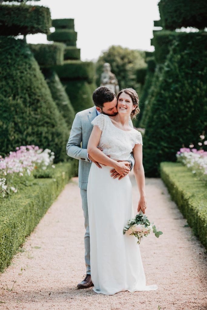 couple mariage chateau de pizay