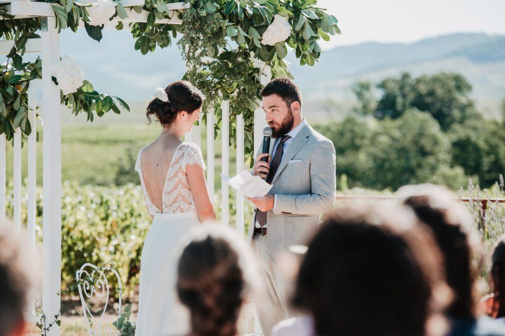 cérémonie laïque discours couple