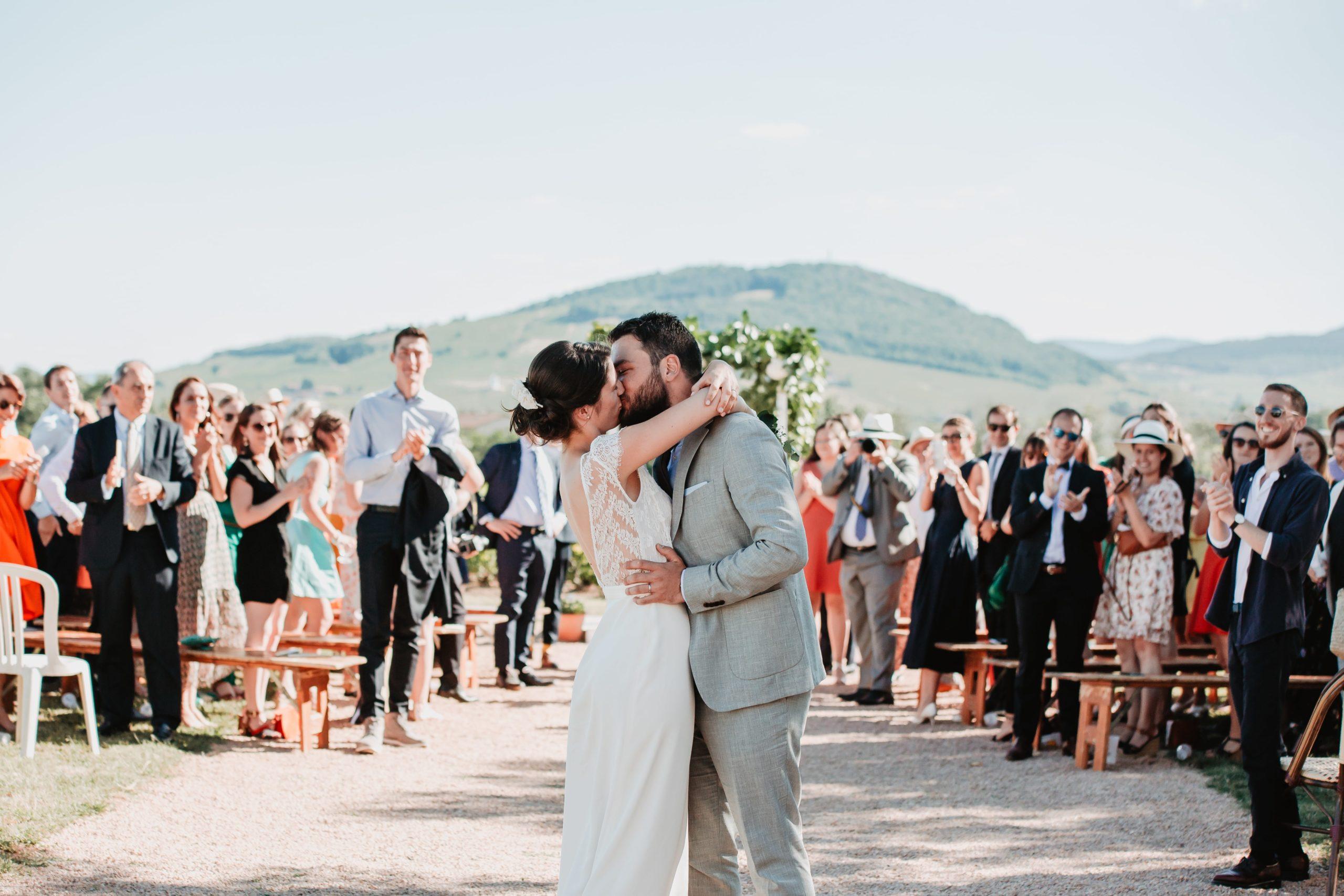 sortie des mariés cérémonie