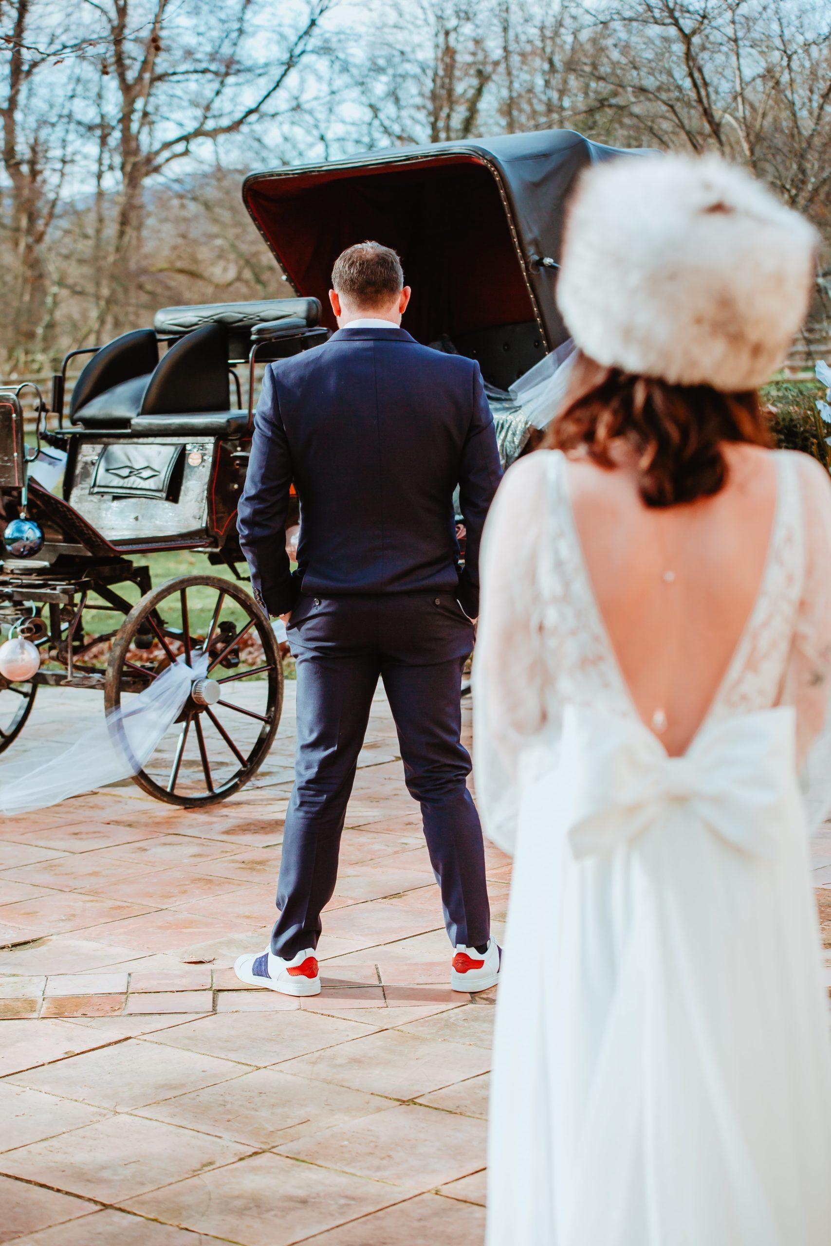 photos de découverte mariage