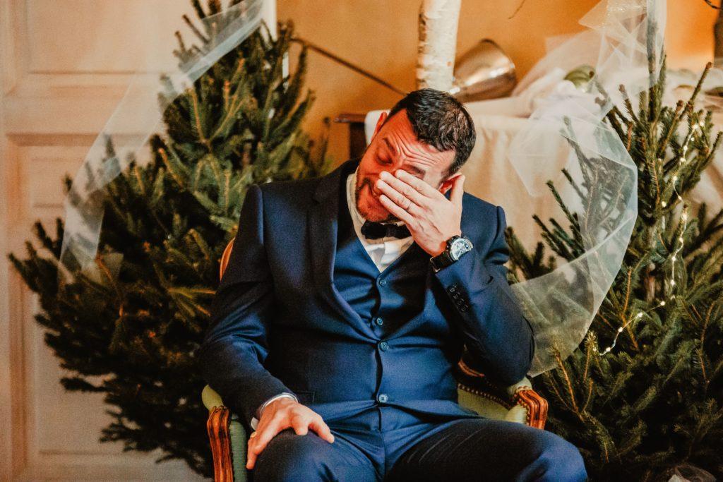 émotions mariage cérémonie