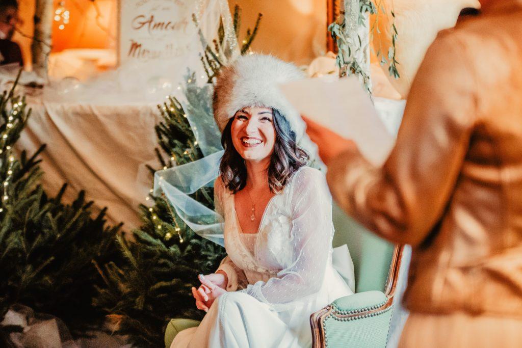 mariée cérémonie laique