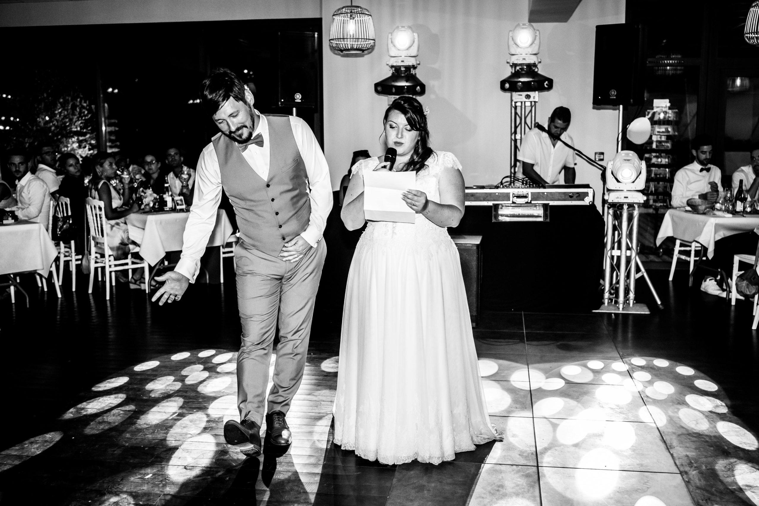 photos de soirée  mariage