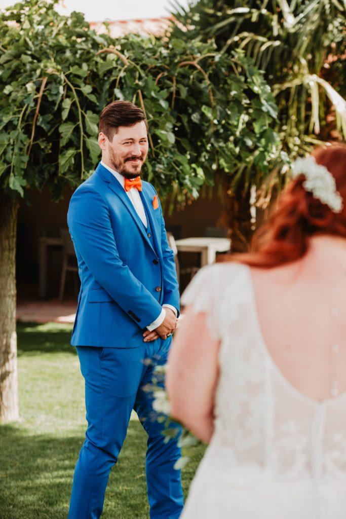 découverte du marié