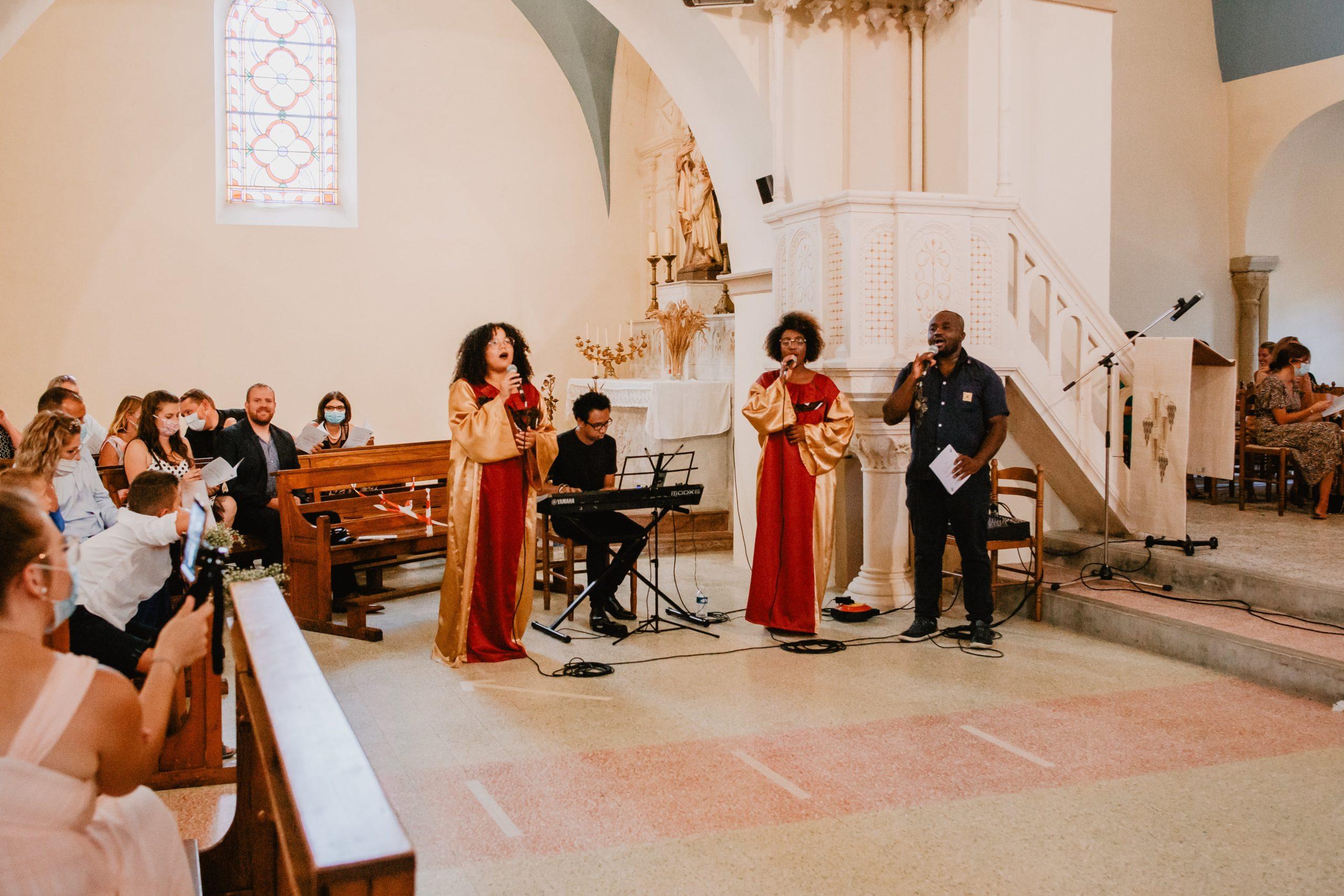 gospel eglise photo mariage