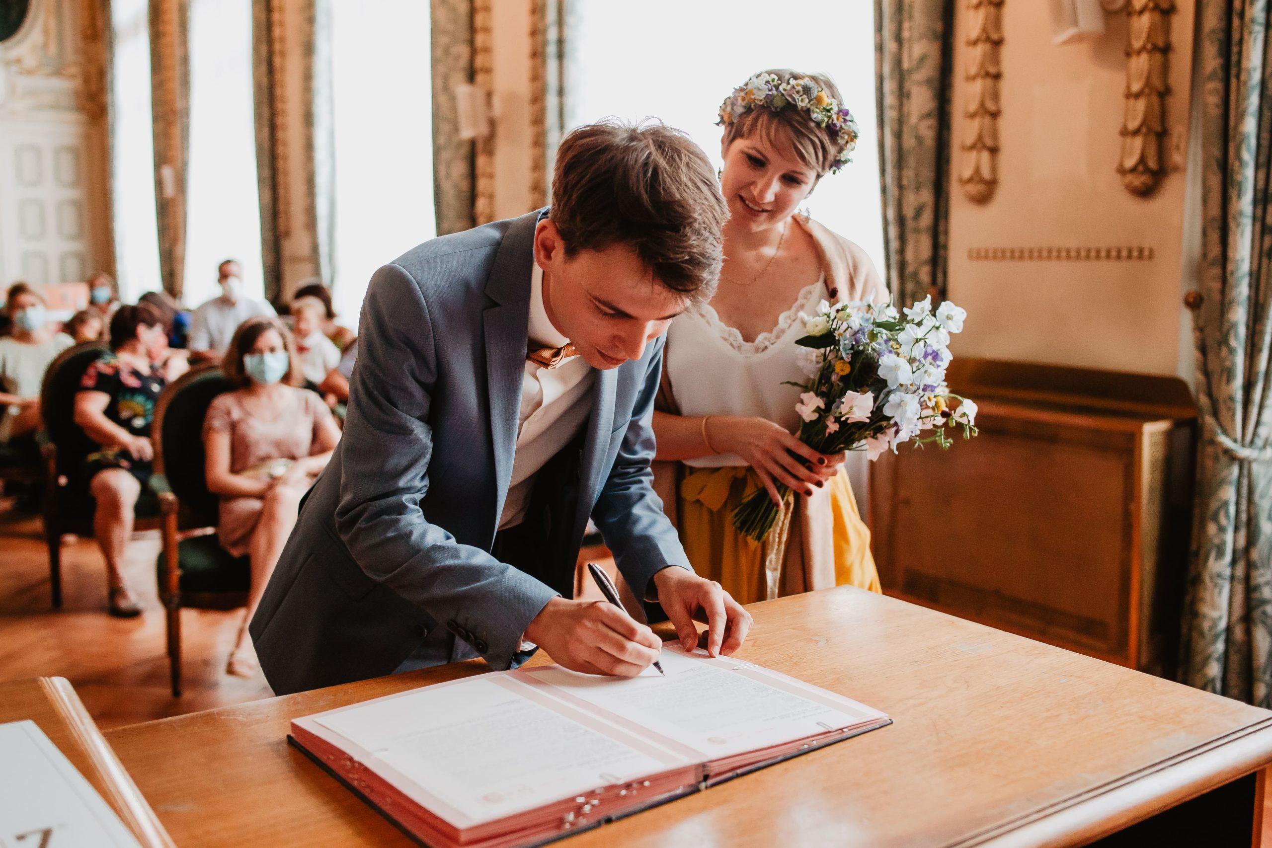 signature mariés salle de mariage lyon 7