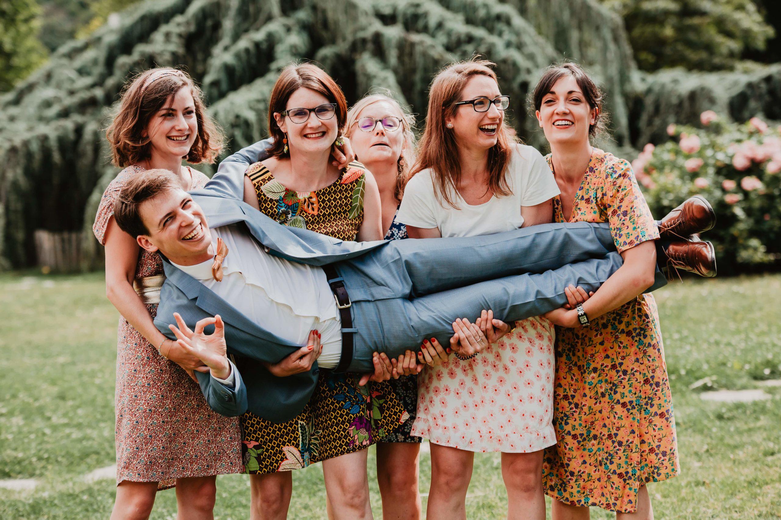 photos de groupe lyon mariage