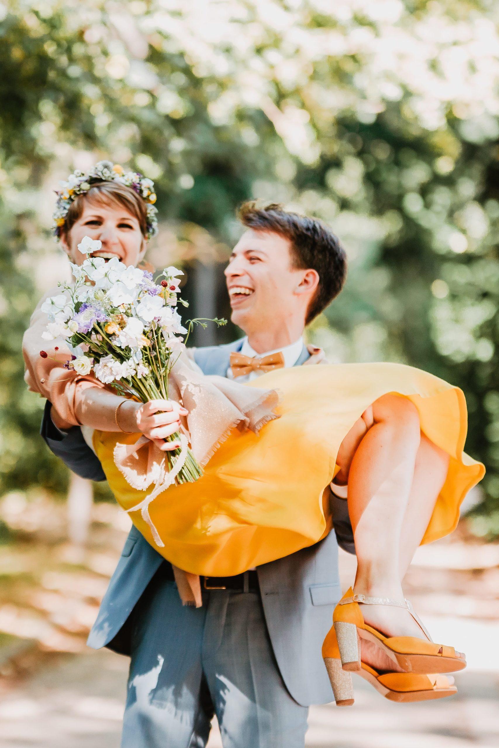 bouquet mariage parc tête d'or