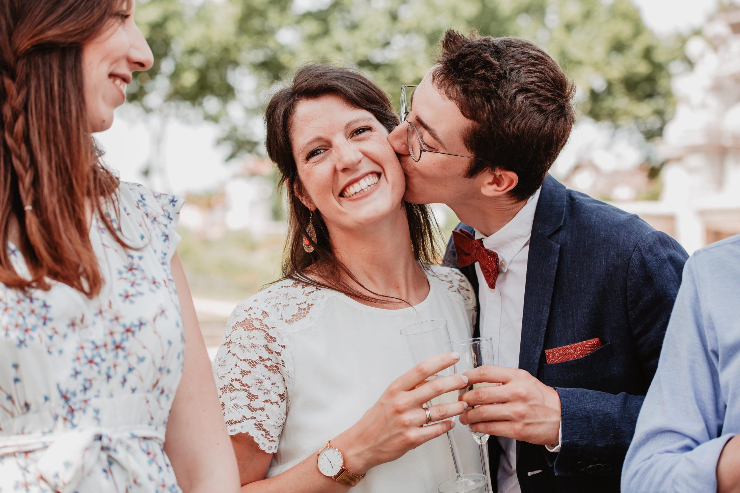 mariée et son frère