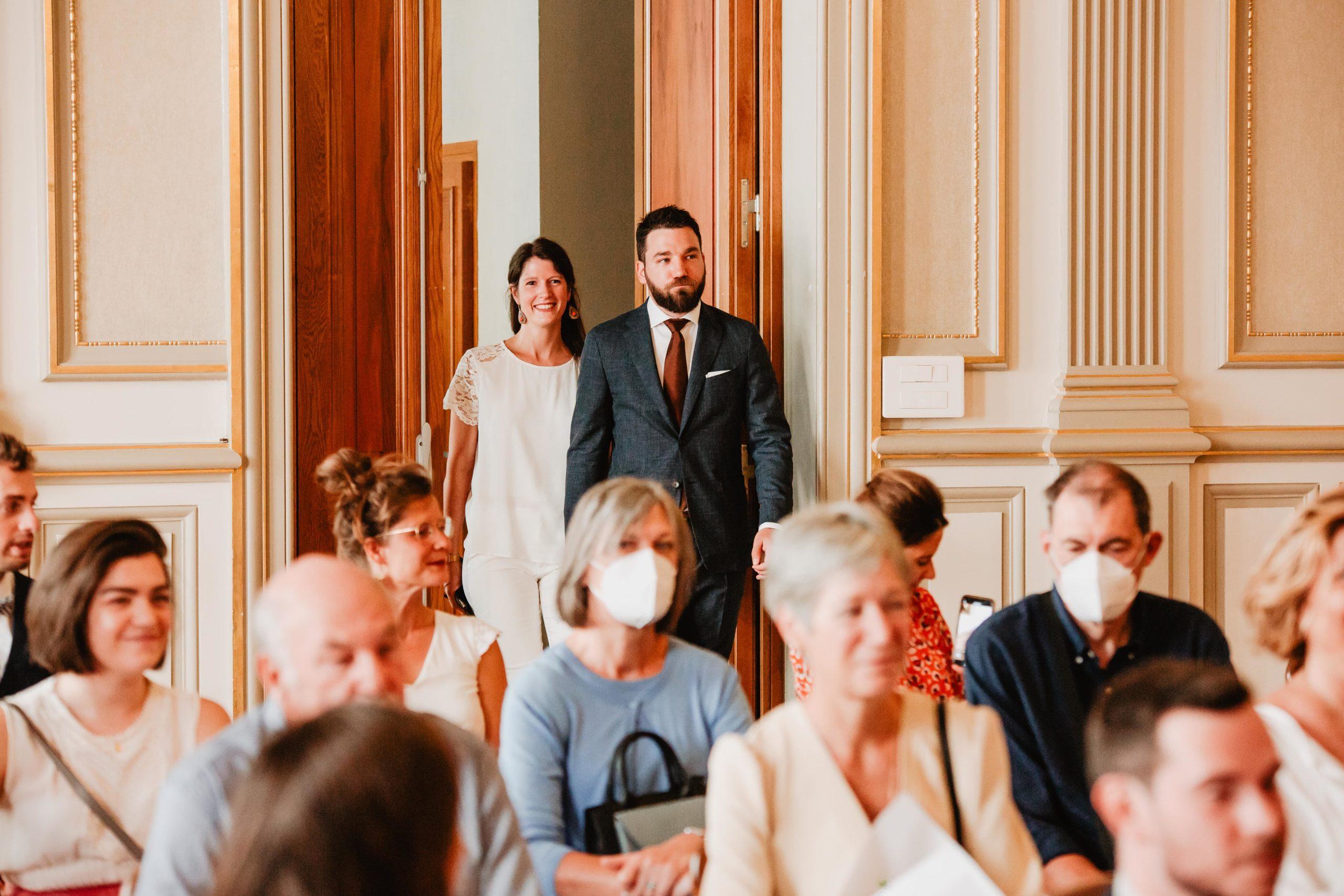 entrée des mariées mairie lyon 6